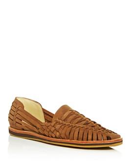 Nisolo - Men's Woven Leather Huarache Sandals
