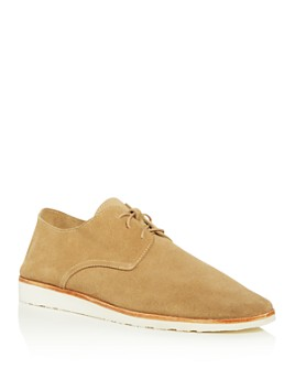 Nisolo - Men's Travel Suede Plain-Toe Oxfords