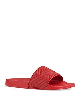 Gucci - Men's Pursuit Matelasse Slide Sandals
