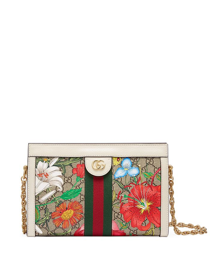 Gucci - Ophidia GG Flora Small Shoulder Bag
