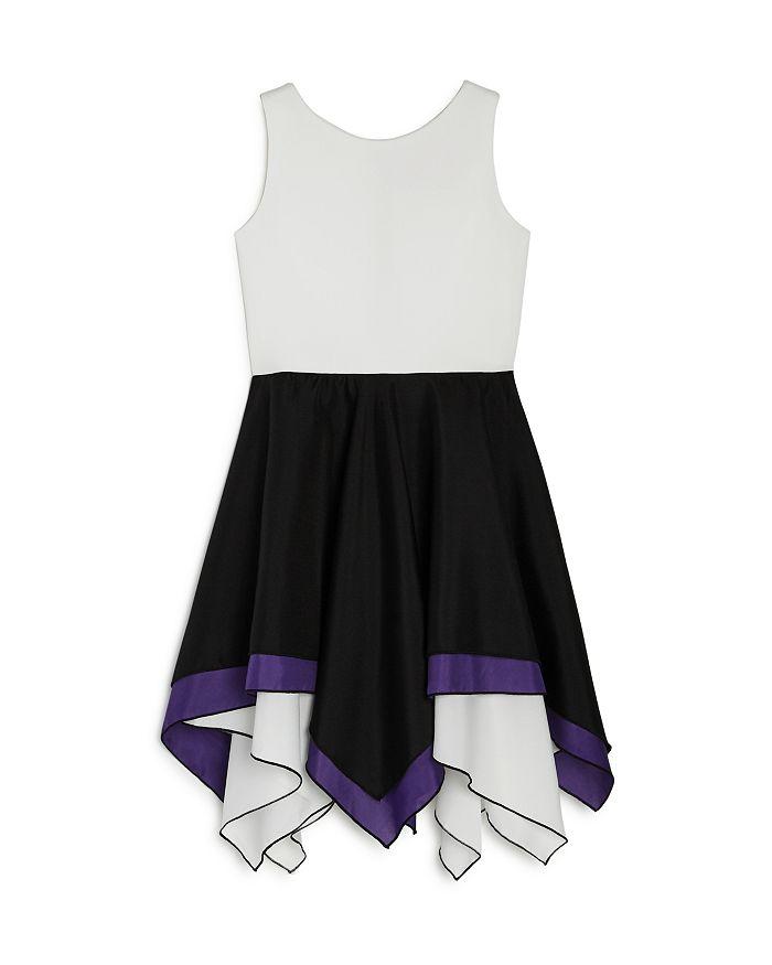 AQUA - Girls' Contrast Handkerchief Dress, Big Kid - 100% Exclusive