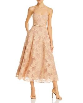 SAU LEE - Fleur Floral-Lace Dress
