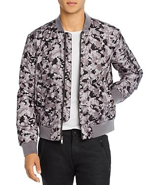John Varvatos Star Usa Conway Camo Regular Fit Bomber Jacket