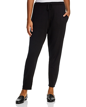 Eileen Fisher Plus Merino Wool Jogger Pants