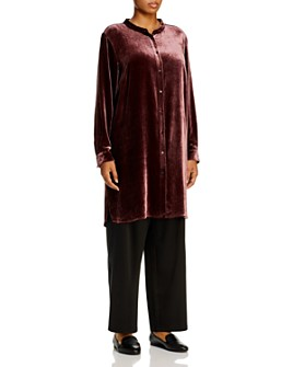 Eileen Fisher Plus - Velvet Tunic Top