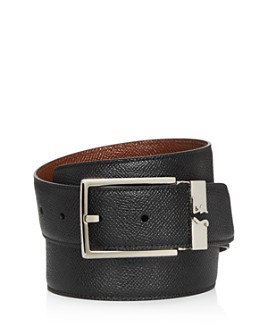 Salvatore Ferragamo - Men's Reversible Square Buckle Leather Belt