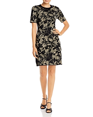 Tory Burch Dresses FLORAL SWEATER DRESS