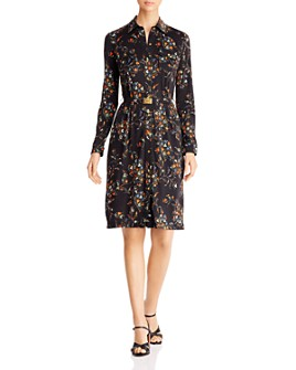 Tory Burch - Floral-Printed Shirt Dress