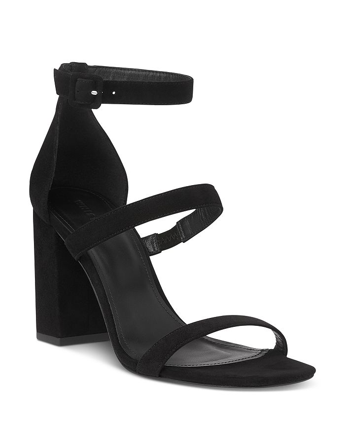 Whistles Women's Hayes Block Heel Sandals In Black