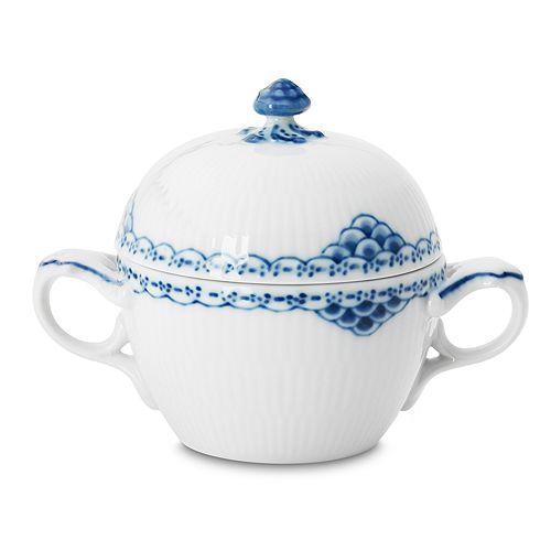"Royal Copenhagen - ""Princess"" Covered Sugar Bowl"