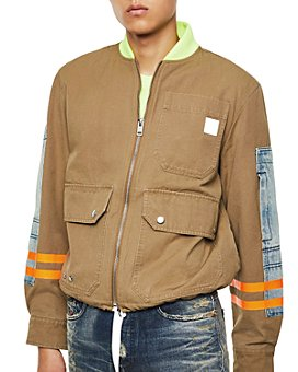 Diesel - J-Storch Mixed-Media Regular Fit Jacket