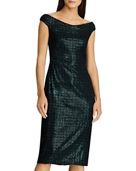Ralph Lauren - Sequined Chenille Dress