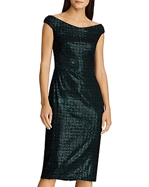 Ralph Lauren Dresses LAUREN RALPH LAUREN SEQUINED CHENILLE DRESS