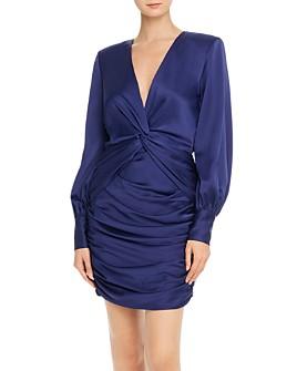 Jay Godfrey - Lyla Draped Twist-Front Dress