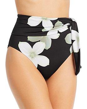 Ralph Lauren - Villa Floral High-Waist Bikini Bottom