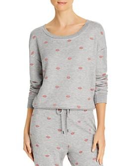 Splendid - X's And O's Embroidered Sweatshirt