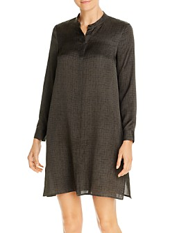 Eileen Fisher - Printed Tunic Dress