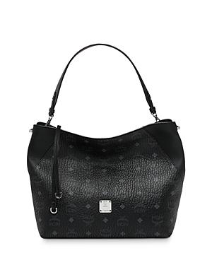 Mcm Klara Visetos Medium Hobo-Handbags