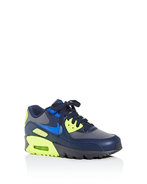Nike Boys' Air Max 90 Leather Low-Top Sneakers - Big Kid