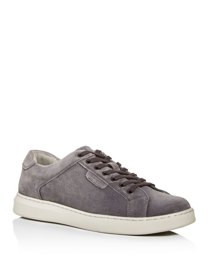 Kenneth Cole Men's Liam Suede Sneakers    Bloomingdale's