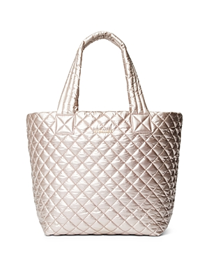 Mz Wallace Totes METALLIC MEDIUM METRO TOTE