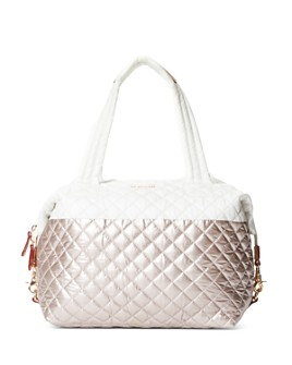 MZ WALLACE - Metallic Color-Block Large Sutton Tote