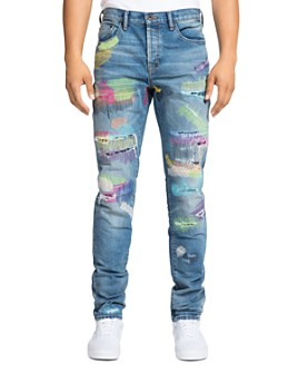 PRPS - La Sabre Slim Fit Rainbow Jeans