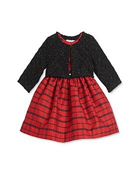 Pippa & Julie - Girls' Bolero Jacket & Plaid Dress Set - Baby