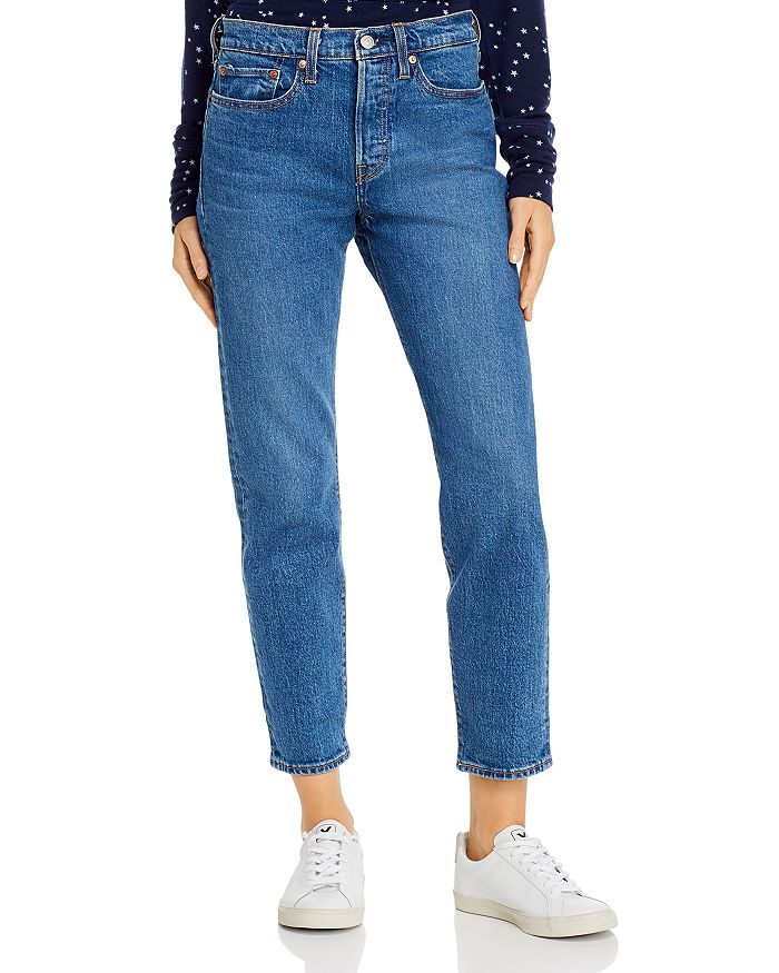Levi's - Wedgie Icon Fit Tapered Jeans in Charleston Moves
