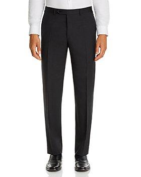 Canali - Siena Tropical Weave Classic Fit Dress Pants