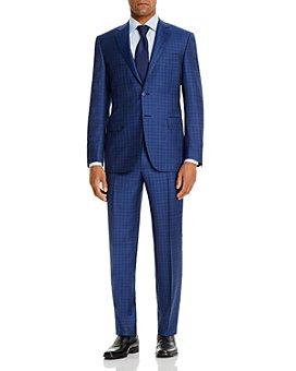 Canali - Tonal Large-Check Classic Fit Suit