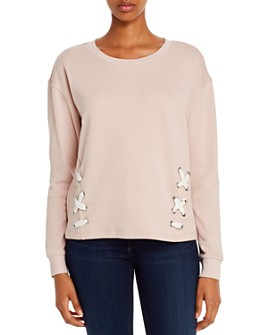 Marc New York - Lace-Up Sweatshirt
