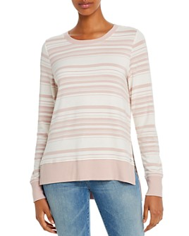 Marc New York - Striped Lightweight Sweatshirt