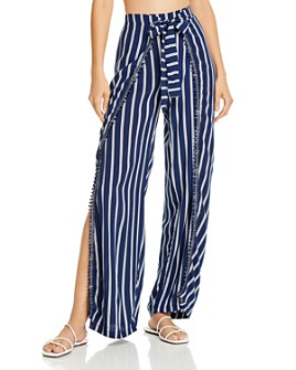 Peixoto - Joan Striped Swim Cover-Up Pants