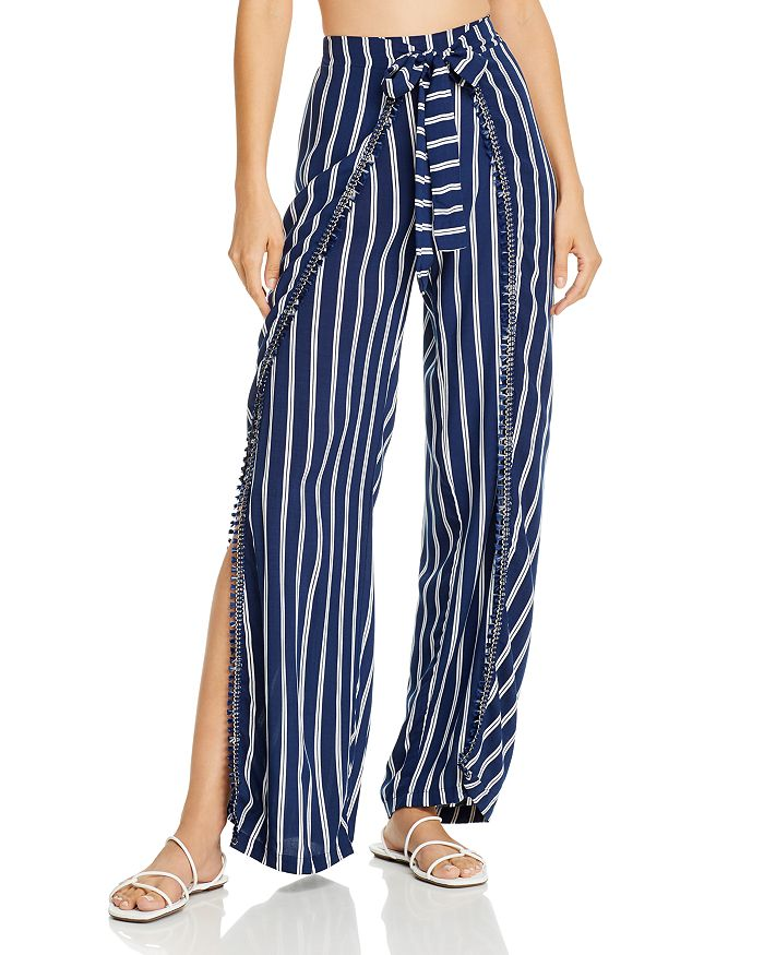 Peixoto - Joan Striped Swim Cover-Up Pants