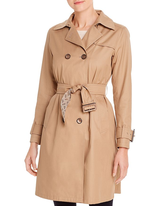 Herno - Double-Breasted Trench Coat