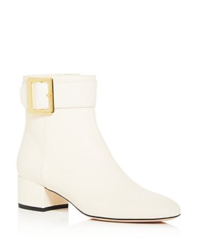 Bally - Women's Jay Buckle Square Toe Booties
