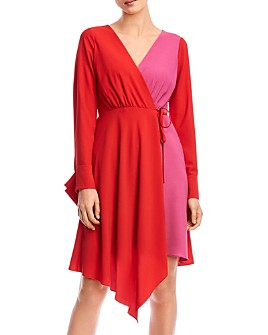 Bailey 44 - Marilyn Color-Block Wrap Dress
