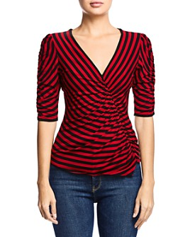 Bailey 44 - Adele Striped Ruched Top