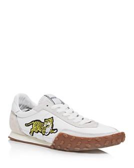 Kenzo - Men's Move Tiger Low-Top Sneakers