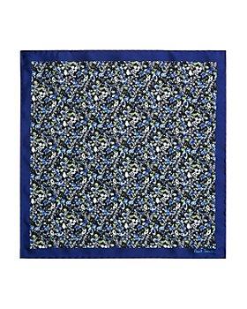 Paul Smith - Mainli Floral Silk Pocket Square