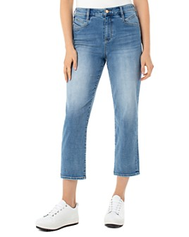 Liverpool Los Angeles - High-Rise Slant-Pocket Cropped Jeans