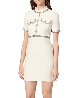 Sandro - Arielle Teed Mini Dress