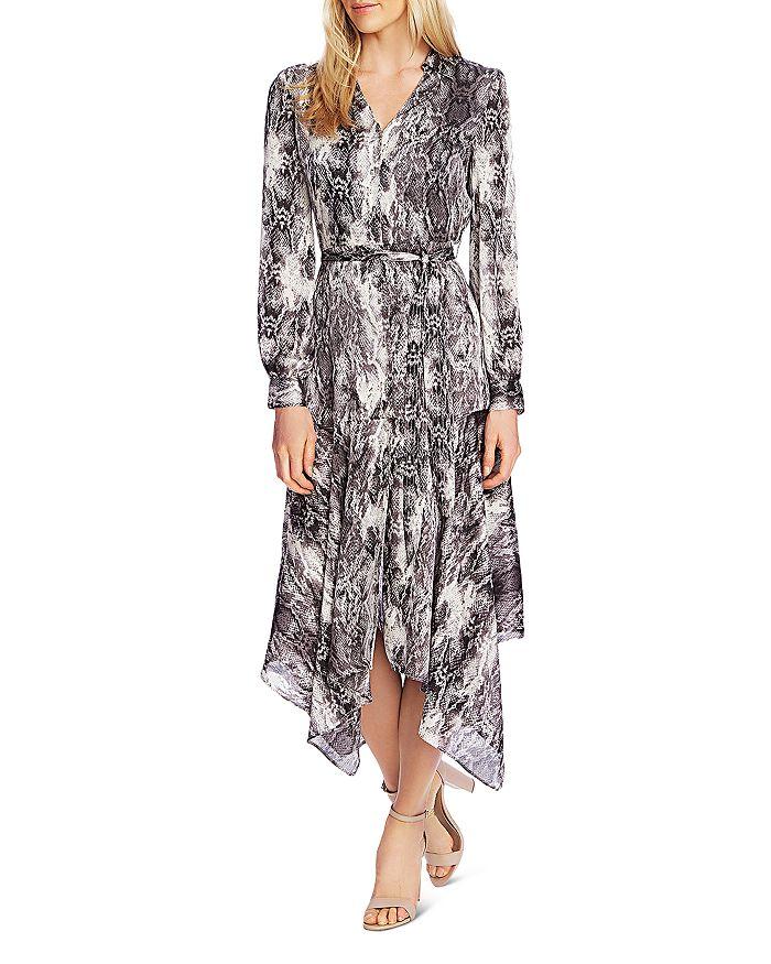 VINCE CAMUTO - Snakeskin Print Midi Dress - 100% Exclusive