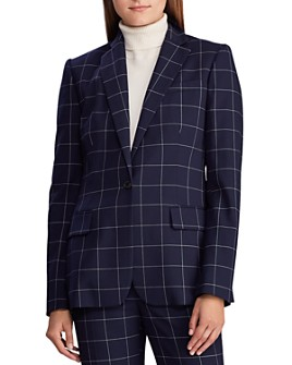 Ralph Lauren - Windowpane Check Blazer