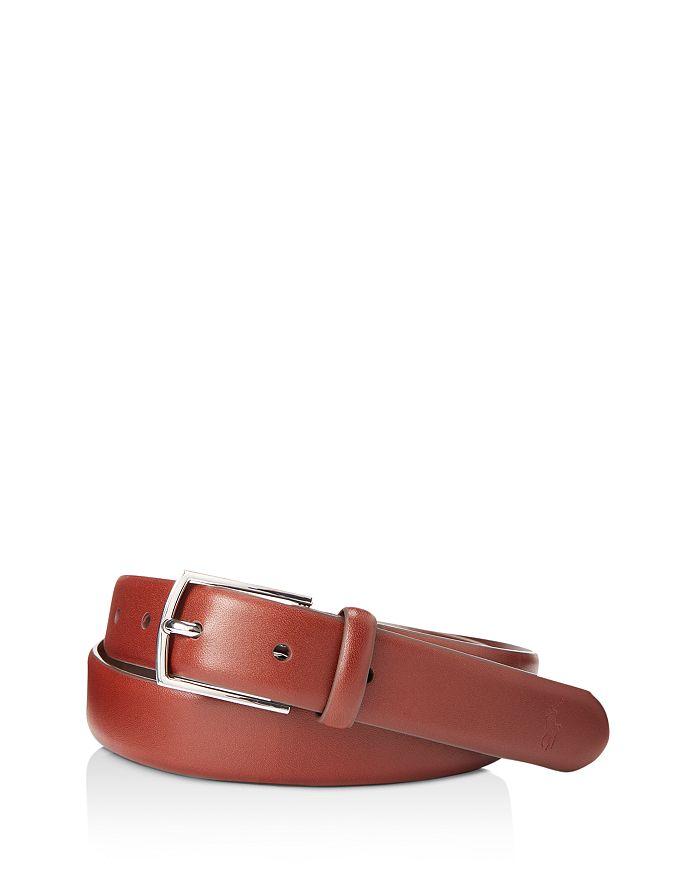 Polo Ralph Lauren - Polo-Plaque Calfskin Belt