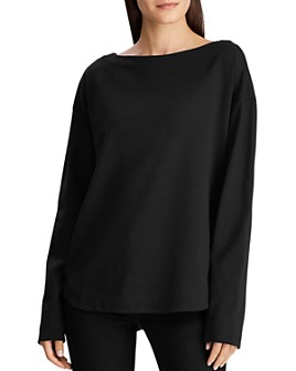 Ralph Lauren - Button Hem Top