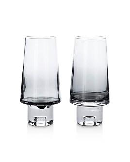 Tom Dixon - Black Tank High Ball Glass, Set of 2