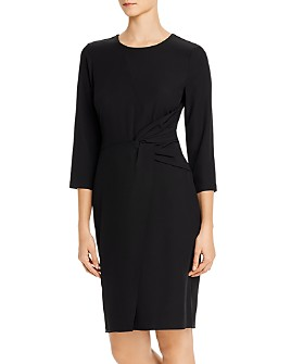 Donna Karan - Twist-Detail Sheath Dress