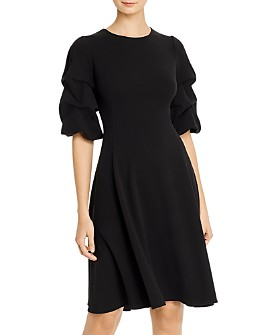 Donna Karan - Caught-Sleeve Dress
